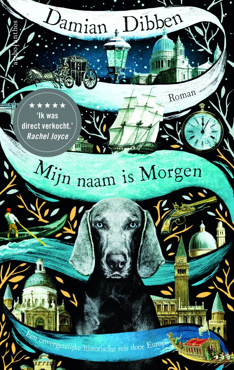 Win een exemplaar van het boek<br> 'Mijn naam is morgen' van Damian Dibben